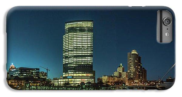 IPhone 7 Plus Case featuring the photograph New Milwaukee Skyline by Randy Scherkenbach