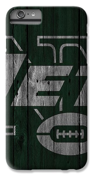 New York Jets Wood Fence IPhone 7 Plus Case by Joe Hamilton