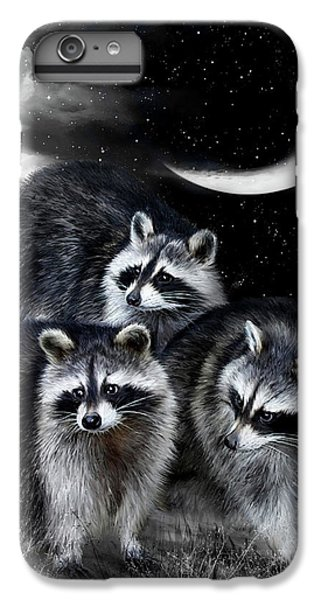 Night Bandits IPhone 7 Plus Case by Carol Cavalaris