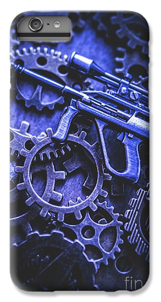 Warfare iPhone 7 Plus Case - Night Watch Gears by Jorgo Photography - Wall Art Gallery