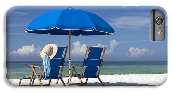 Beach iPhone 7 Plus Case - No Worries by Janet Fikar