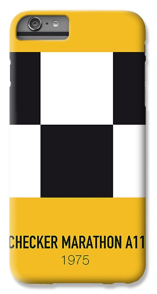 Knight iPhone 7 Plus Case - No002 My Taxi Driver Minimal Movie Car Poster by Chungkong Art