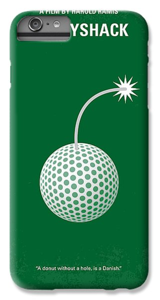 Golf iPhone 7 Plus Case - No013 My Caddy Shack Minimal Movie Poster by Chungkong Art