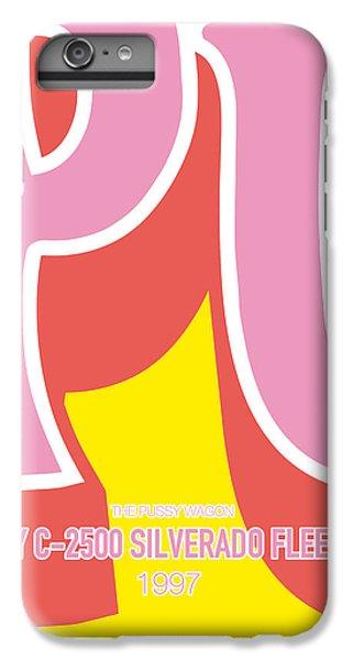 Knight iPhone 7 Plus Case - No013 My Kill Bill Minimal Movie Car Poster by Chungkong Art