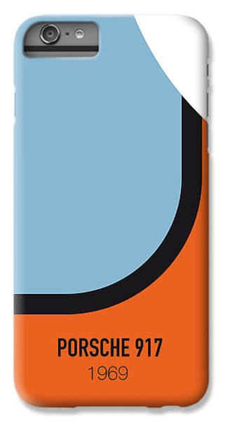 No016 My Le Mans Minimal Movie Car Poster IPhone 7 Plus Case by Chungkong Art