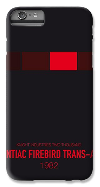 Knight iPhone 7 Plus Case - No019 My Knight Rider Minimal Movie Car Poster by Chungkong Art