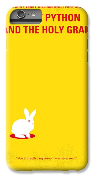 Python iPhone 7 Plus Case - No036 My Monty Python And The Holy Grail Minimal Movie Poster by Chungkong Art