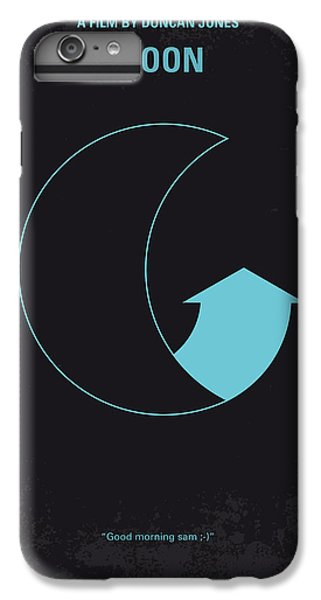 Moon iPhone 7 Plus Case - No053 My Moon 2009 Minimal Movie Poster by Chungkong Art