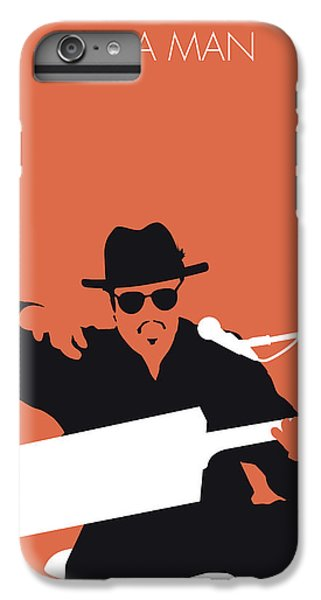 Rhythm And Blues iPhone 7 Plus Case - No103 My Bo Diddley Minimal Music Poster by Chungkong Art