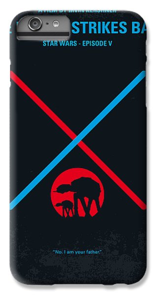 No155 My Star Wars Episode V The Empire Strikes Back Minimal Movie Poster IPhone 7 Plus Case by Chungkong Art