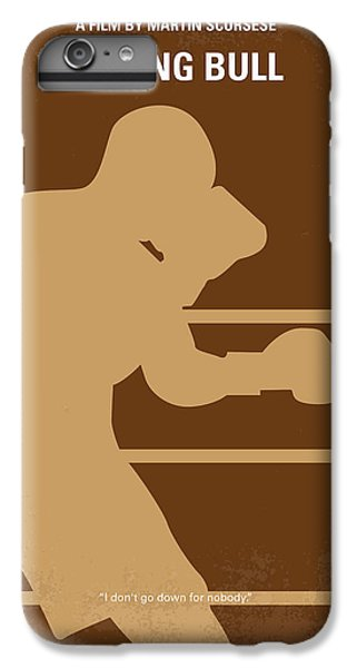 Bull iPhone 7 Plus Case - No174 My Raging Bull Minimal Movie Poster by Chungkong Art
