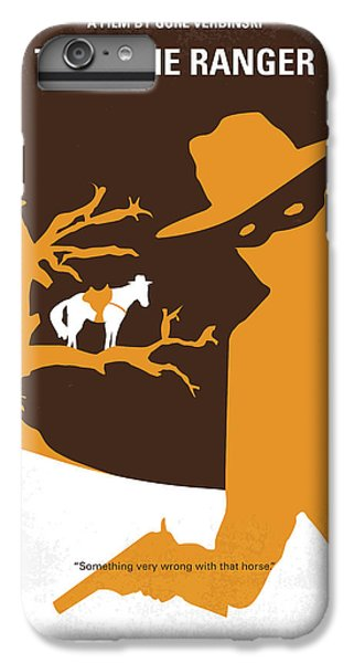 Johnny Depp iPhone 7 Plus Case - No202 My The Lone Ranger Minimal Movie Poster by Chungkong Art