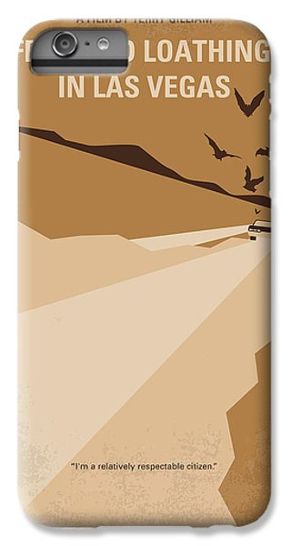 Johnny Depp iPhone 7 Plus Case - No293 My Fear And Loathing Las Vegas Minimal Movie Poster by Chungkong Art