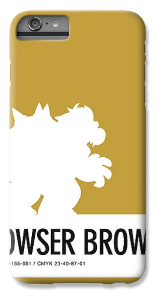 Daisy iPhone 7 Plus Case - No38 My Minimal Color Code Poster Bowser by Chungkong Art