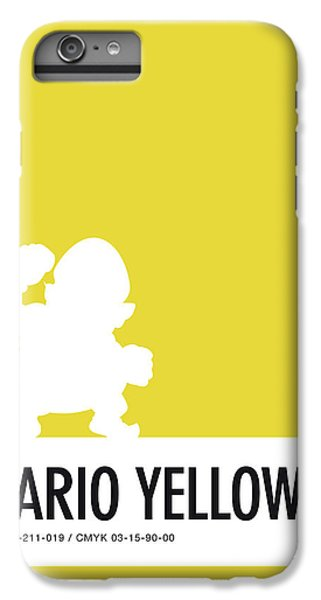 Daisy iPhone 7 Plus Case - No43 My Minimal Color Code Poster Wario by Chungkong Art