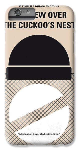 No454 My One Flew Over The Cuckoos Nest Minimal Movie Poster IPhone 7 Plus Case by Chungkong Art
