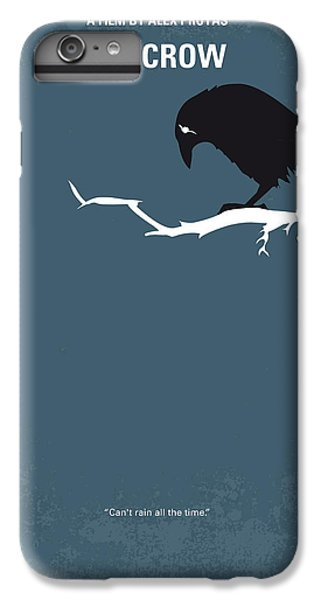 Crow iPhone 7 Plus Case - No488 My The Crow Minimal Movie Poster by Chungkong Art