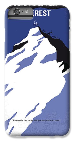 Robin iPhone 7 Plus Case - No492 My Everest Minimal Movie Poster by Chungkong Art