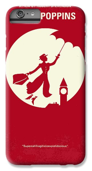 No539 My Mary Poppins Minimal Movie Poster IPhone 7 Plus Case by Chungkong Art