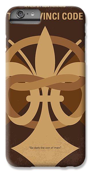 No548 My Da Vinci Code Minimal Movie Poster IPhone 7 Plus Case
