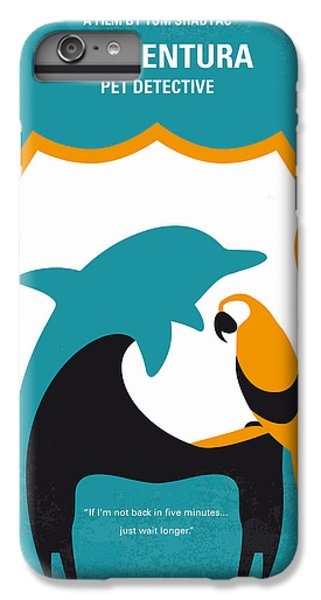 No558 My Ace Ventura Minimal Movie Poster IPhone 7 Plus Case by Chungkong Art