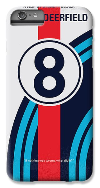 Martini iPhone 7 Plus Case - No565 My Bobby Deerfield Minimal Movie Poster by Chungkong Art