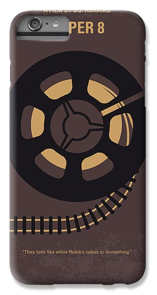 Aliens iPhone 7 Plus Case - No578 My Super 8 Minimal Movie Poster by Chungkong Art