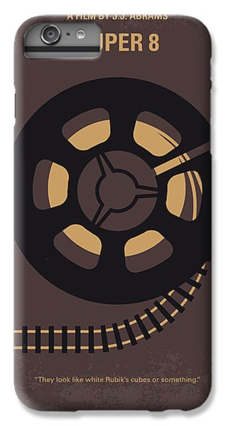 Truck iPhone 7 Plus Case - No578 My Super 8 Minimal Movie Poster by Chungkong Art