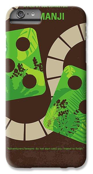 Robin iPhone 7 Plus Case - No653 My Jumanji Minimal Movie Poster by Chungkong Art