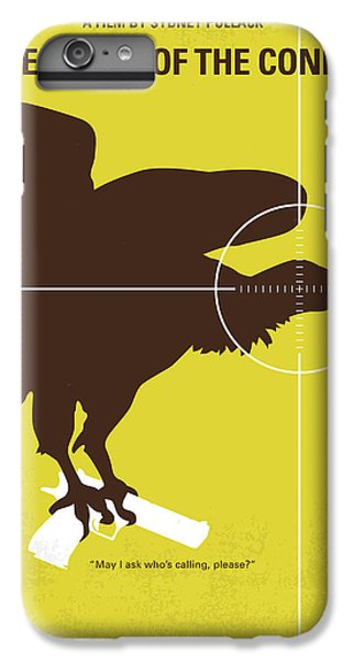 Condor iPhone 7 Plus Case - No659 My Three Days Of The Condor Minimal Movie Poster by Chungkong Art