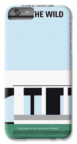 No677 My Into The Wild Minimal Movie Poster IPhone 7 Plus Case by Chungkong Art
