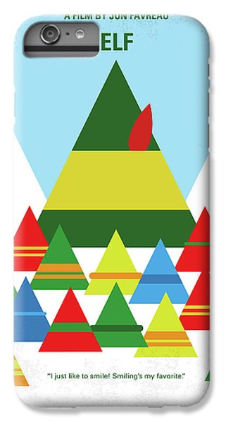 Elf iPhone 7 Plus Case - No699 My Elf Minimal Movie Poster by Chungkong Art