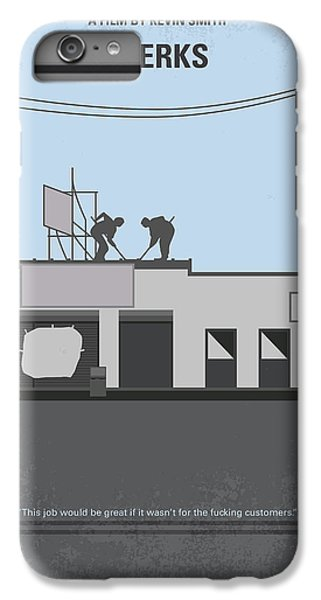 Hockey iPhone 7 Plus Case - No715 My Clerks Minimal Movie Poster by Chungkong Art