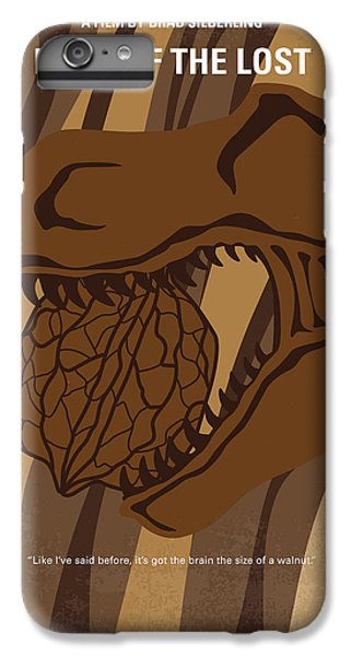 Dinosaur iPhone 7 Plus Case - No773 My Land Of The Lost Minimal Movie Poster by Chungkong Art