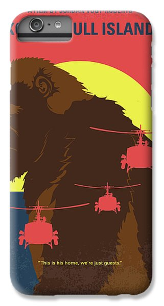 Gorilla iPhone 7 Plus Case - No799 My Skull Island Minimal Movie Poster by Chungkong Art