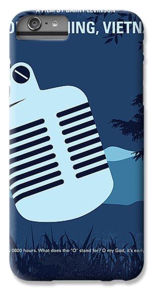 Robin iPhone 7 Plus Case - No811 My Good Morning Vietnam Minimal Movie Poster by Chungkong Art