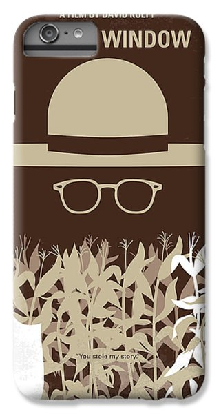 Johnny Depp iPhone 7 Plus Case - No830 My Secret Window Minimal Movie Poster by Chungkong Art
