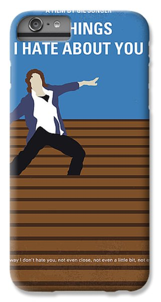 Heath Ledger iPhone 7 Plus Case - No850 My 10 Things I Hate About You Minimal Movie Poster by Chungkong Art