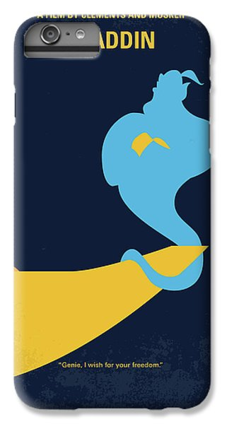 Robin iPhone 7 Plus Case - No920 My Aladdin Minimal Movie Poster by Chungkong Art