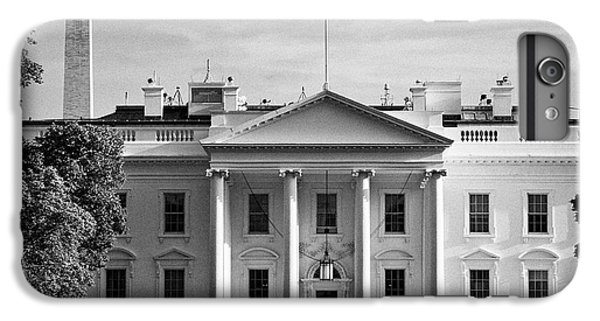 north facade from pennsylvania avenue the white house with washington monument in the background Was IPhone 7 Plus Case by Joe Fox