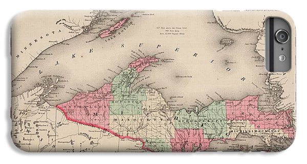 Lake Superior iPhone 7 Plus Case - Northern Michigan And Lake Superior by Colton