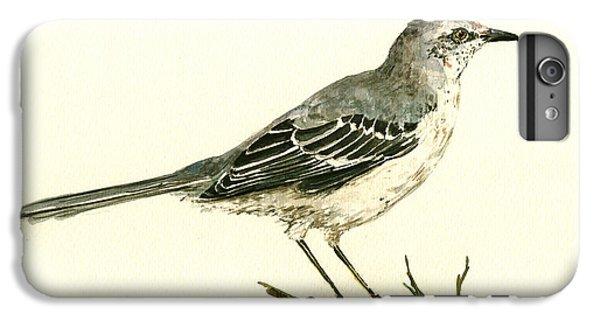 Northern Mockingbird IPhone 7 Plus Case by Juan  Bosco