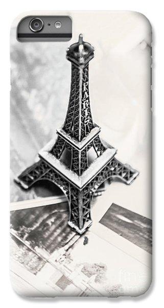 Eiffel Tower iPhone 7 Plus Case - Nostalgia In France by Jorgo Photography - Wall Art Gallery