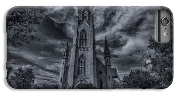 Notre Dame University Church IPhone 7 Plus Case by David Haskett