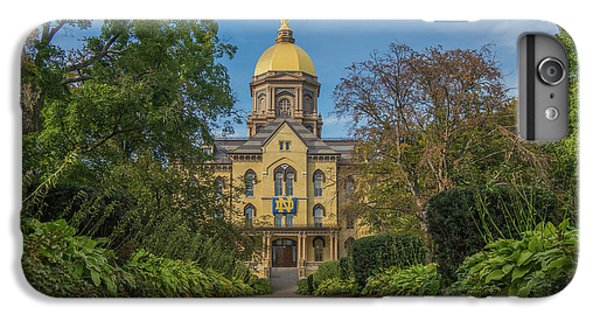 Notre Dame University Q IPhone 7 Plus Case by David Haskett