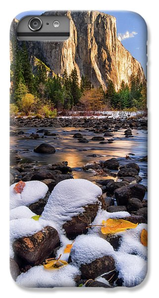 Mountain iPhone 7 Plus Case - November Morning by Anthony Michael Bonafede