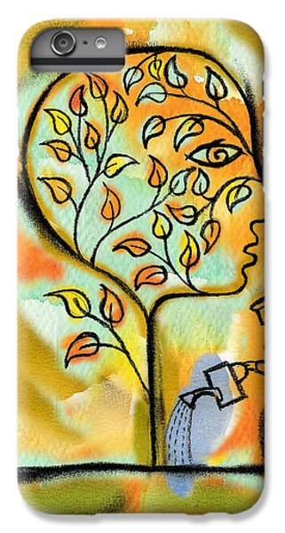 Garden iPhone 7 Plus Case - Nurturing And Caring by Leon Zernitsky