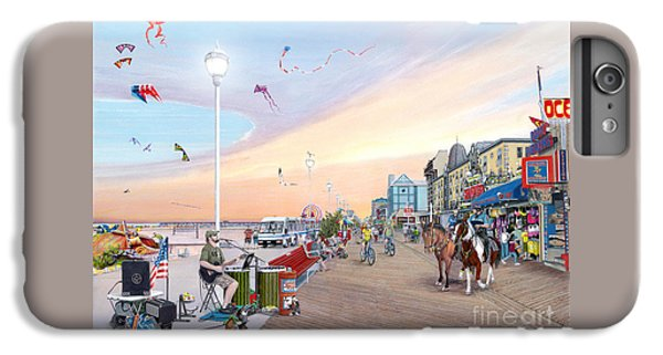 City Sunset iPhone 7 Plus Case - Ocean City Maryland by Albert Puskaric