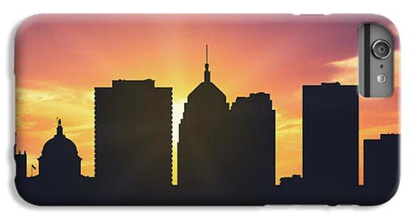 City Sunset iPhone 7 Plus Case - Oklahoma City Sunset Usokoc-pa01 by Aged Pixel