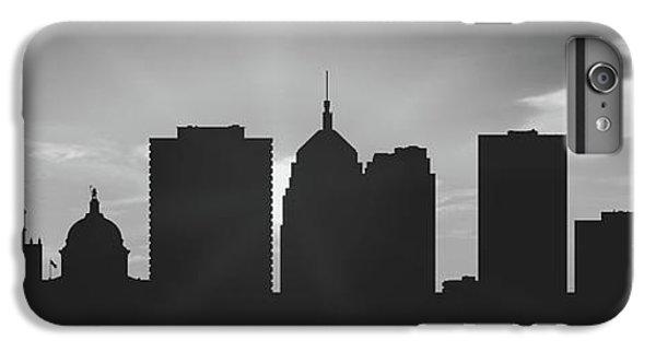 City Sunset iPhone 7 Plus Case - Oklahoma City Sunset Usokoc-pa02 by Aged Pixel
